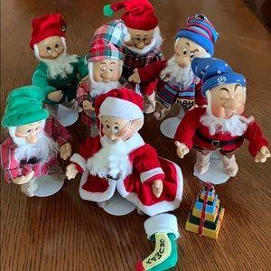 Disney porcelain The 7 Dwarfs beautiful set